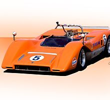 1969 McLaren M8C Racecar by DaveKoontz