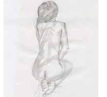 naked women line drawing by Kyleacharisse