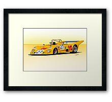1972 Lola T290 Racecar Framed Print
