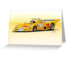 1972 Lola T290 Racecar Greeting Card