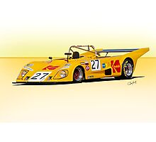 1972 Lola T290 Racecar Photographic Print