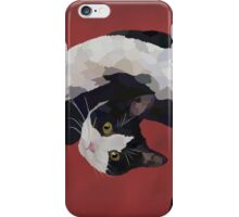 Zorro is watching - Red iPhone Case/Skin