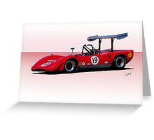 1969 Lola T163 Racecar Greeting Card