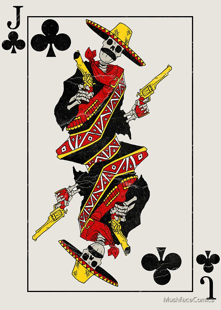 Jack of Clubs by MushfaceComics