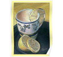 Lemon Teatime Poster