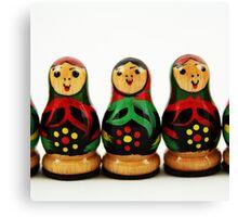 Nostalgic Toys Series - Babushkas Canvas Print