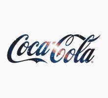 Coca Cola Logo Galaxy by Fergushigley