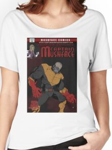 Captain Mushface Issue 6 Cover Women's Relaxed Fit T-Shirt