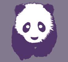 Purple Panda Kids Tee