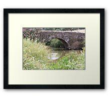 Roman bridge 5413 Framed Print