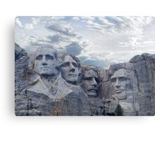 Four Presidents Metal Print