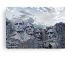 Four Presidents Canvas Print