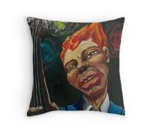 Bassman Throw Pillow