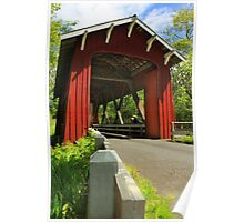Brookwood Covered Bridge Poster