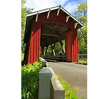 Brookwood Covered Bridge Photographic Print