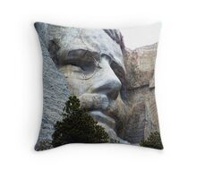 Roosevelt on Rushmore Throw Pillow