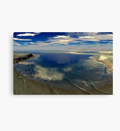 Sharepoos Inlet Canvas Print