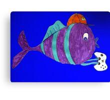 xbox gaming singular fish  Canvas Print