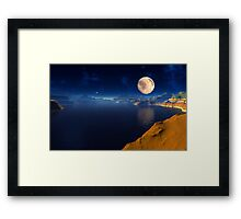 Cauldra Lake Framed Print