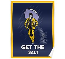 get the salt sticker and prints Poster