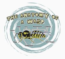 The Anatomy of a Wasp One Piece - Short Sleeve