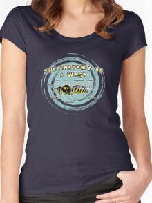 The Anatomy of a Wasp Women's Fitted Scoop T-Shirt