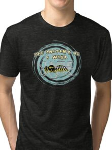 The Anatomy of a Wasp Tri-blend T-Shirt