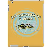 The Anatomy of a Wasp iPad Case/Skin