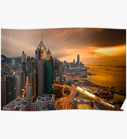 Hong Kong Sunset 2015 Poster