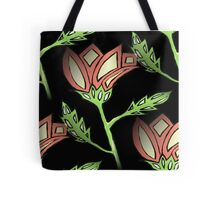 Peach Pattern Tote Bag
