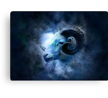 Zodiac signs - aries Canvas Print