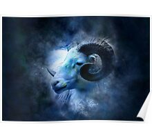 Zodiac signs - aries Poster