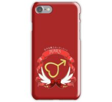 Sailor Signs - Mars iPhone Case/Skin