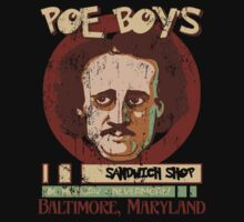 Poe Boy's Sandwich Shop T-Shirt