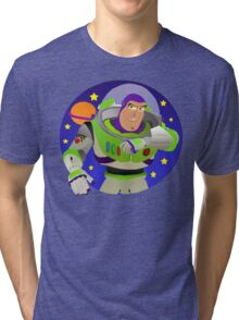 Toy Story Buzz Lightyear Space Ranger Tri-blend T-Shirt