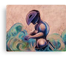 Striving For Balance In An Ocean Of Change Canvas Print