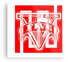 GTA V Maze Bank Metal Print