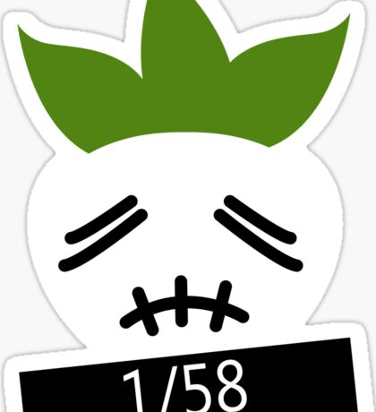 1/58 Stitchface Turnip Sticker