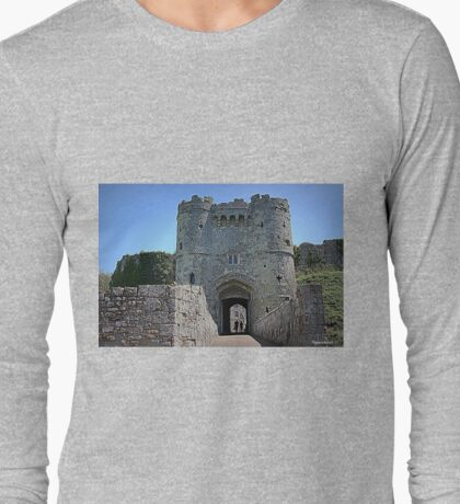 Carisbrooke Castle-I.O.W Long Sleeve T-Shirt