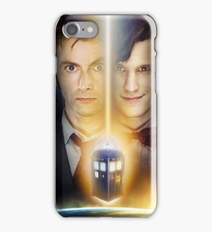 Doctor Who - Tennant & Smith  iPhone Case/Skin