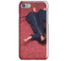 By the Flowers She was Swept Away iPhone Case/Skin