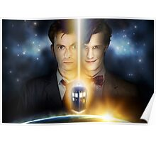 Doctor Who - Tennant & Smith  Poster