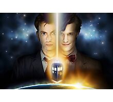 Doctor Who - Tennant & Smith  Photographic Print