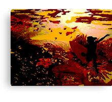 Oceans Of Gold Canvas Print