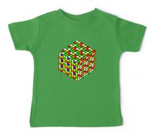 rubik's cube expanded Baby Tee