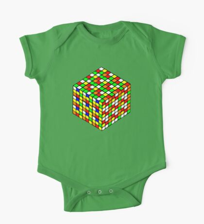 rubik's cube expanded One Piece - Short Sleeve