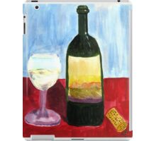Relax And Have a Glass of Wine iPad Case/Skin