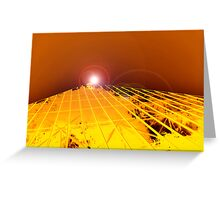 Pyramid Glasshouse Greeting Card
