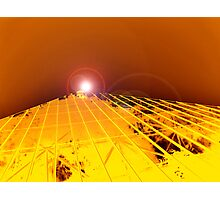 Pyramid Glasshouse Photographic Print