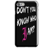 Every Time I Die - Don't You Know Who I Am? (White) iPhone Case/Skin
